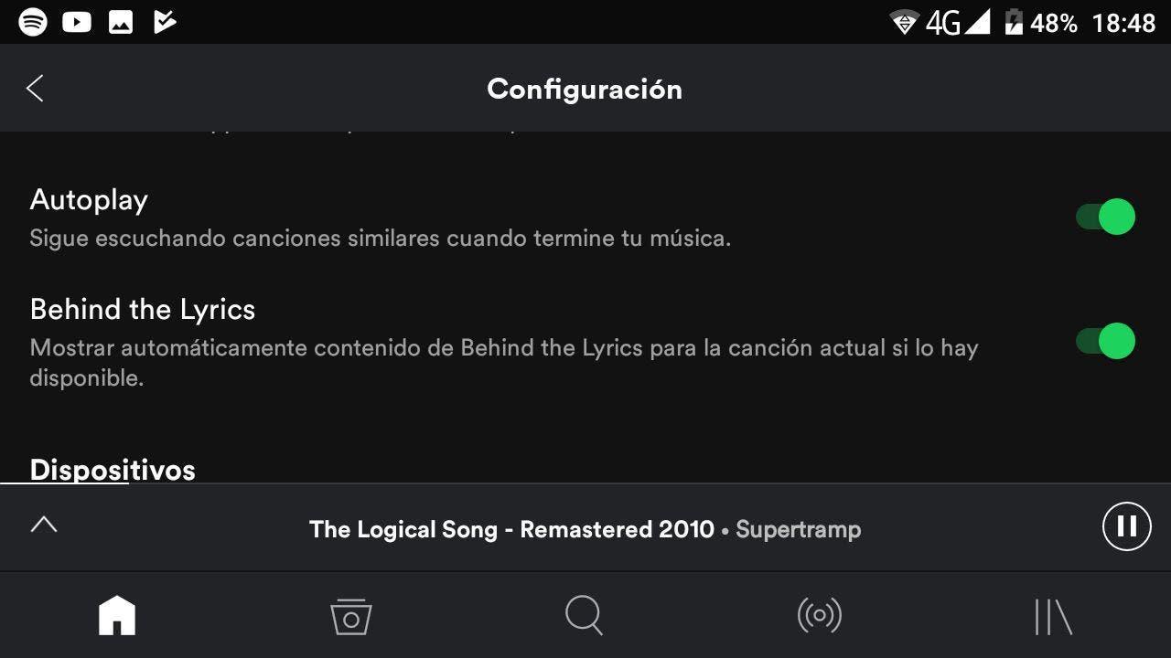 behind the lyrics Spotify