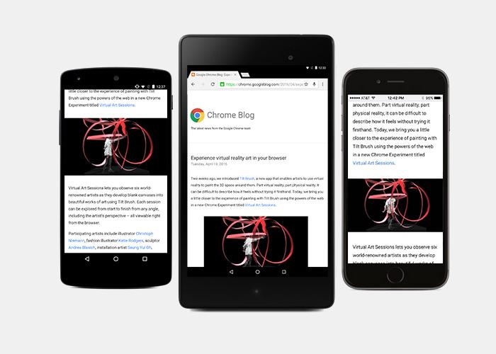 Chrome para Android se actualiza con un gran cambio