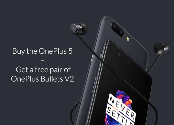 Cómo conseguir unos auriculares gratis al comprar un OnePlus 5
