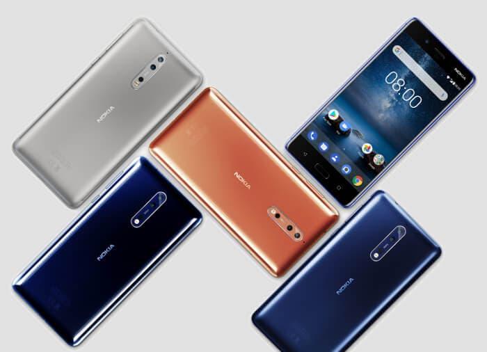 El Nokia 8 ya tiene una versión con más memoria RAM y almacenamiento