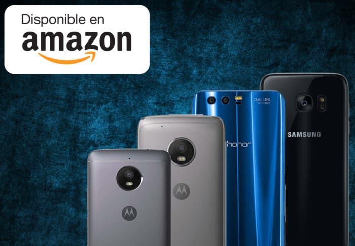 Samsung Galaxy S7 Edge, Moto G5 Plus y más móviles baratos en oferta