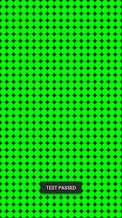 táctil de la monitor calibrado