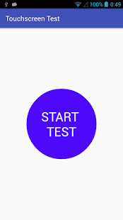 test panel táctil