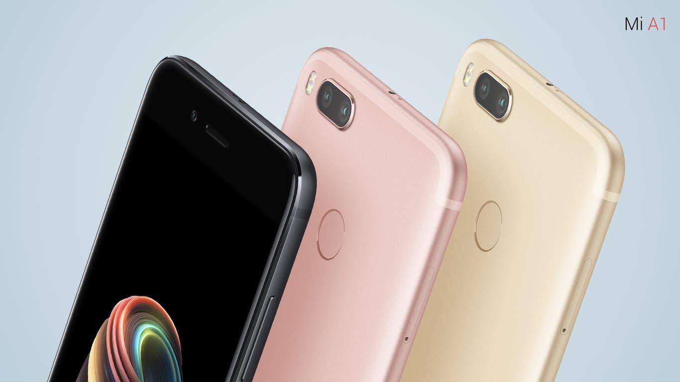 Comparativa entre el Xiaomi Mi A1, el Motorola Moto G5 y el BQ Aquaris X