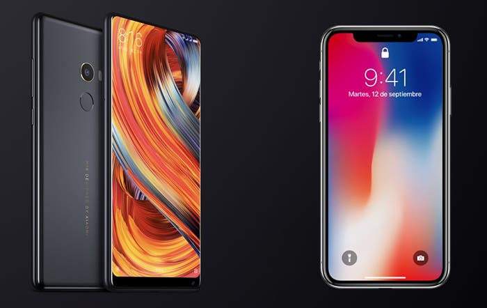 xiaomi mi mix 2 vs iPhone x