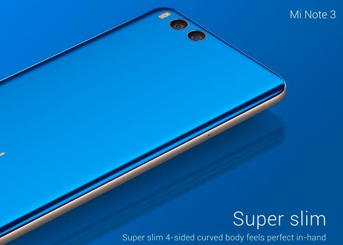 El Xiaomi Mi Note 3 es oficial, aquí tienes toda la información