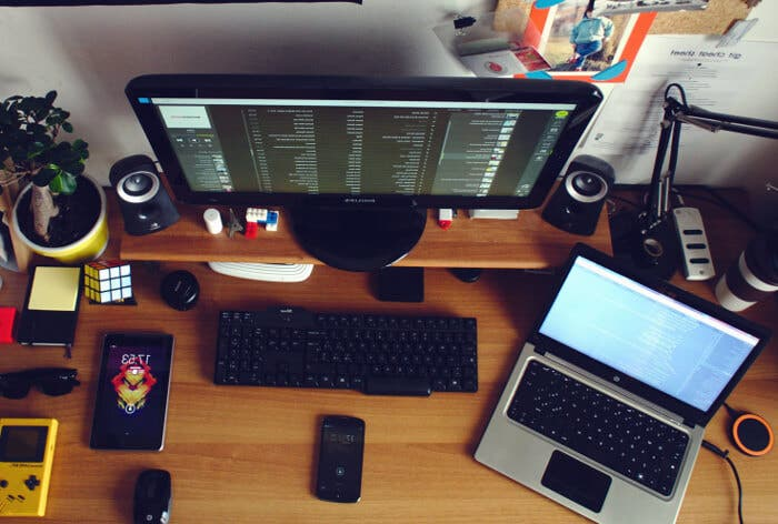 escritorio tecnológico