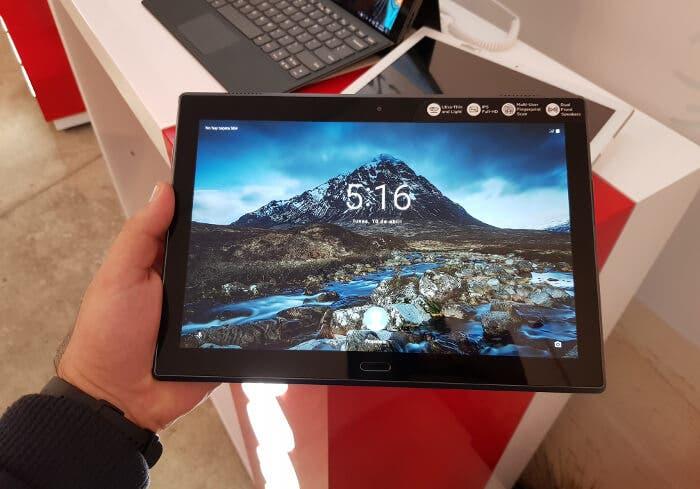 Nueva Lenovo Tab 4 10 Plus: una tablet con diseño premium perfecta para toda la familia