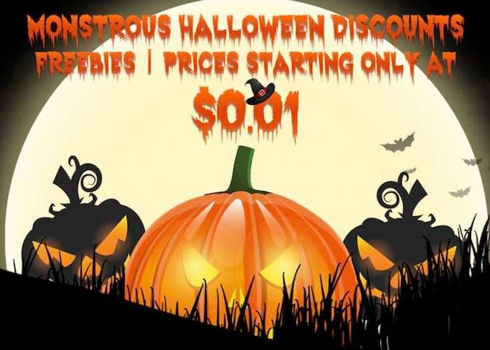 Aprovecha estas ofertas de Halloween con grandes descuentos