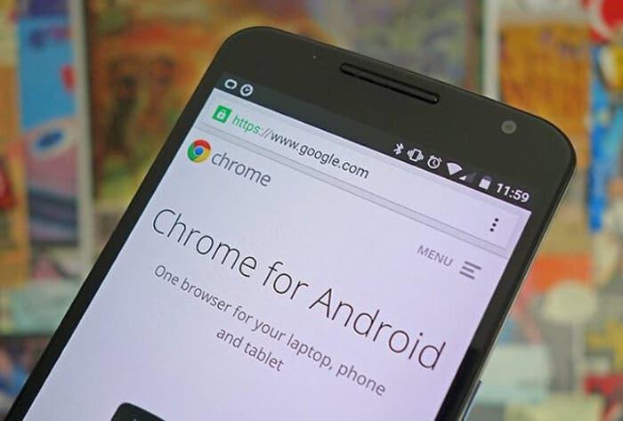 Esta nueva función de Chrome para Android puede ser bastante peligrosa