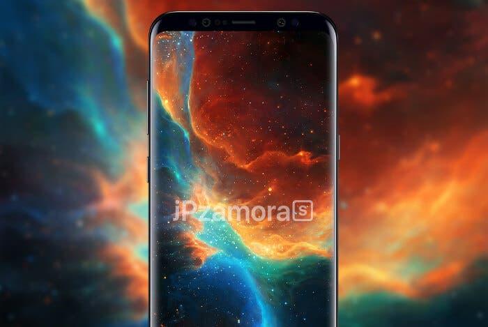 Este concepto del Samsung Galaxy S9 tiene biseles aún más reducidos