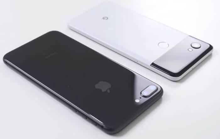 Enfrentados el Google Pixel 2 XL y el iPhone 8 Plus en un test de caídas