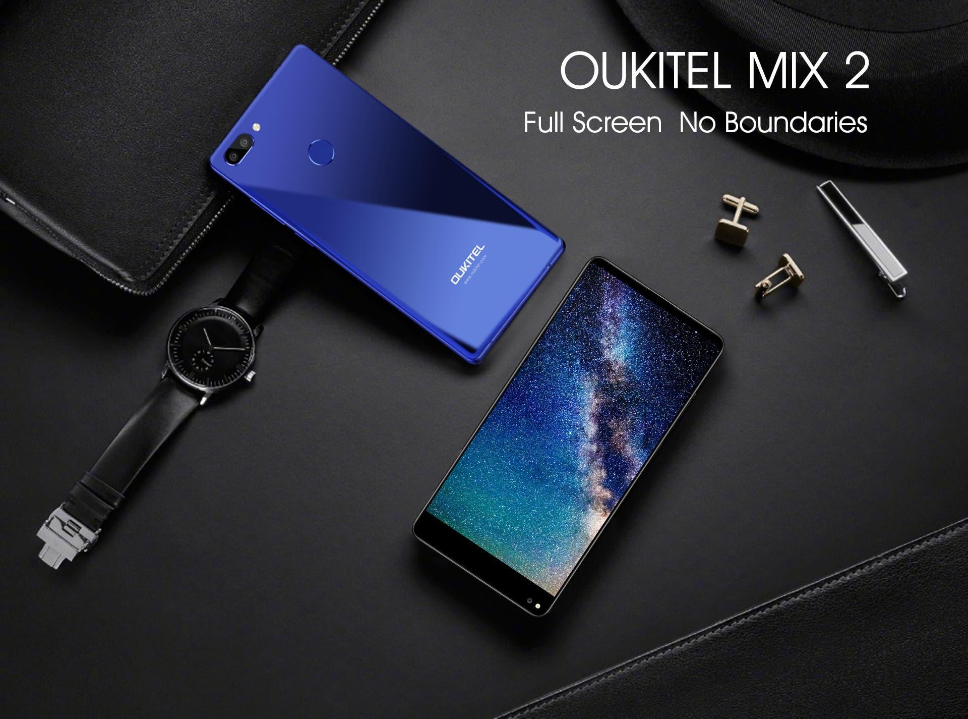 Consigue el Oukitel Mix 2 con un gran descuento con este sencillo truco