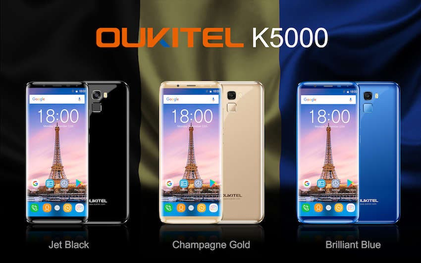 colores oukitel k5000