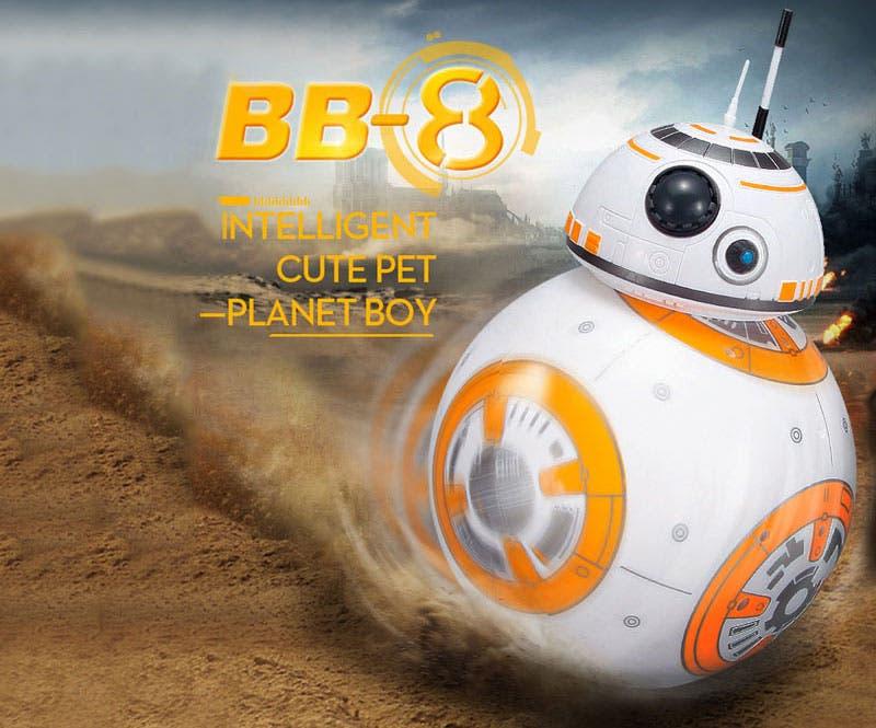 robot bb-8 r2d2