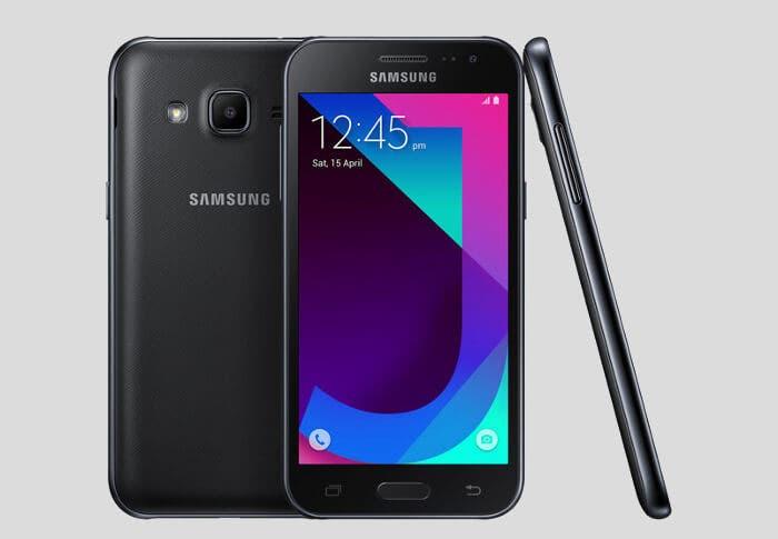 Galaxy j2 2017 diseño