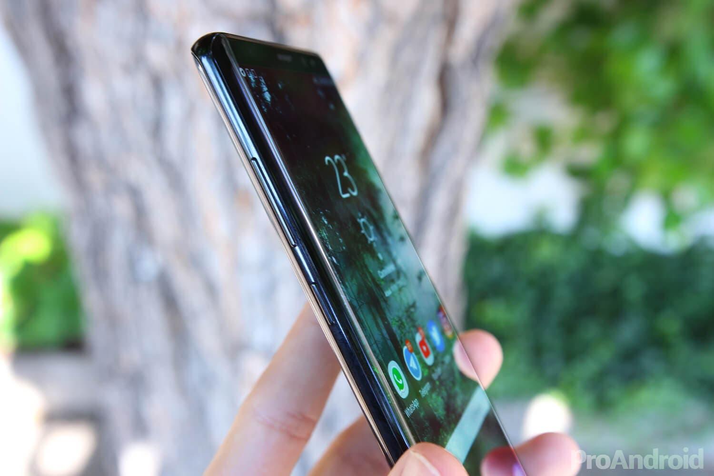 El Samsung Galaxy Note 9 podría llegar con un botón extra