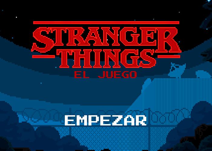 El juego oficial de Stranger Things aparece hoy en Google Play
