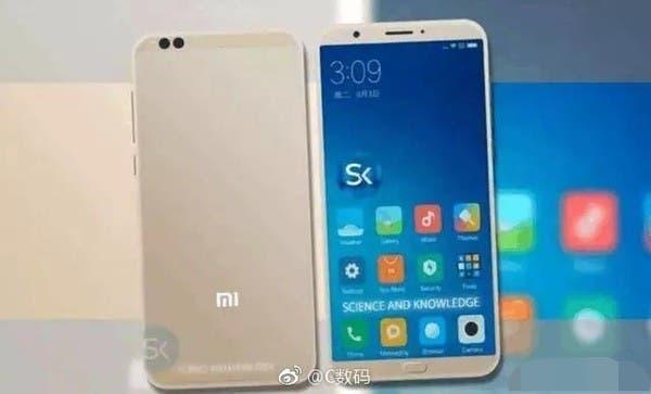 Xiaomi Mi 6C render