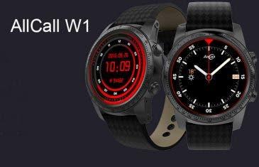 AllCall W1, un smartwatch económico y completo que nos servirá como teléfono
