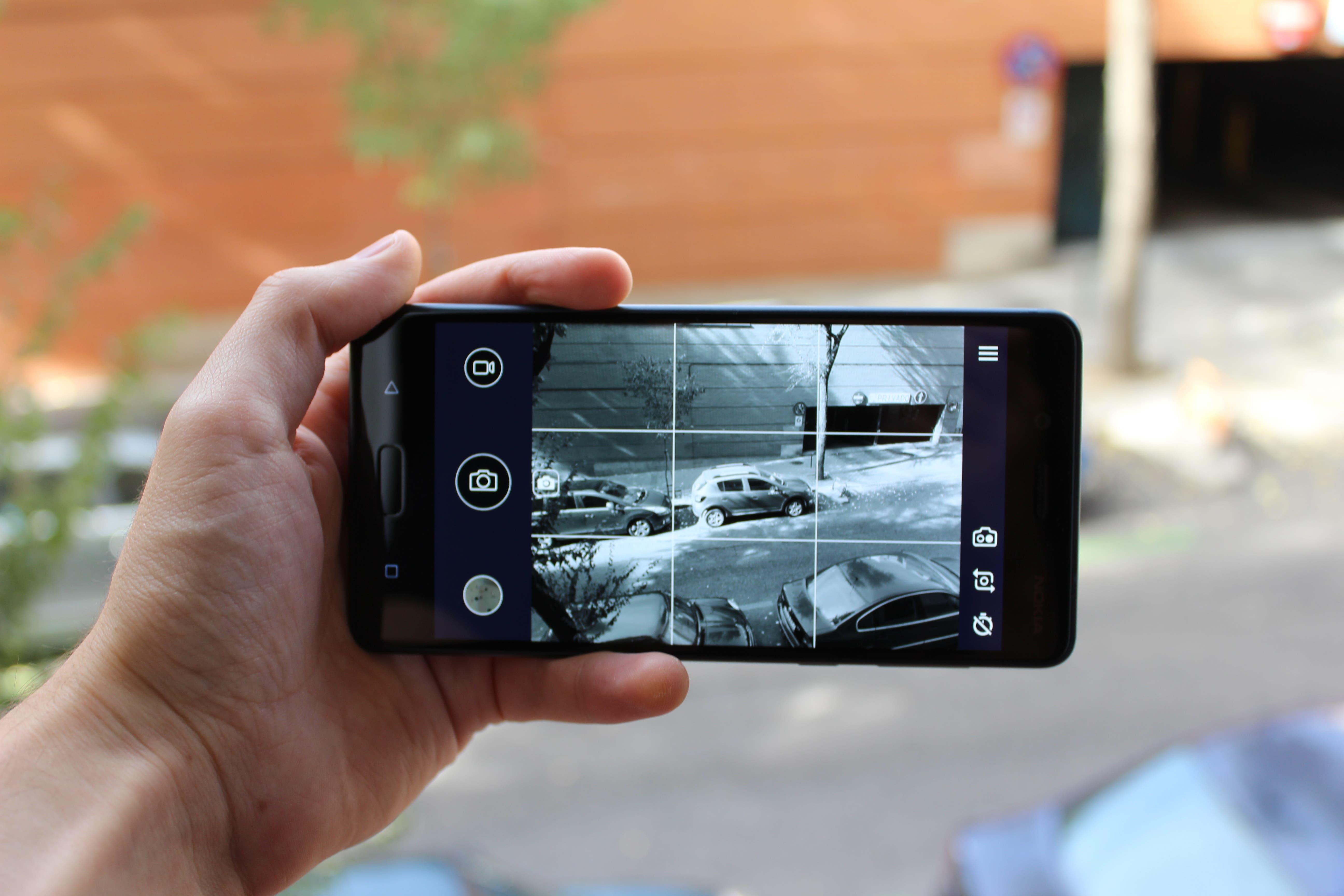 Interfaz camara Nokia 8