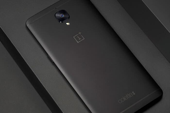 OnePlus 3 negro