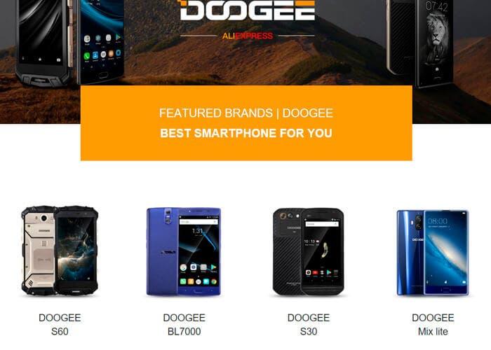 DOOGEE S60 oferta