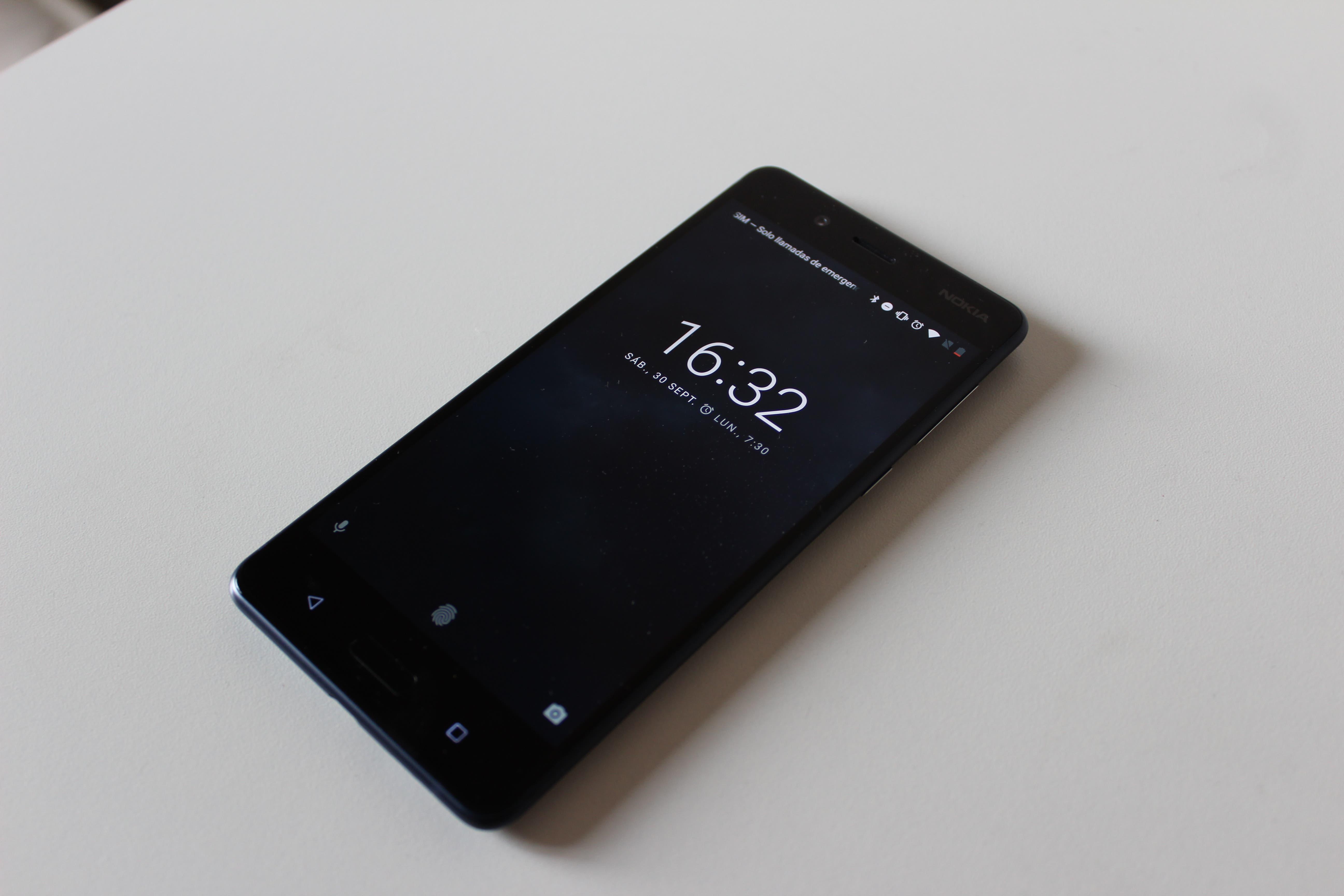 Nokia 8 bloqueo