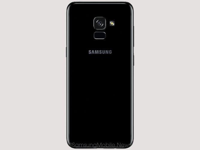 Galaxy A5 2018 trasera