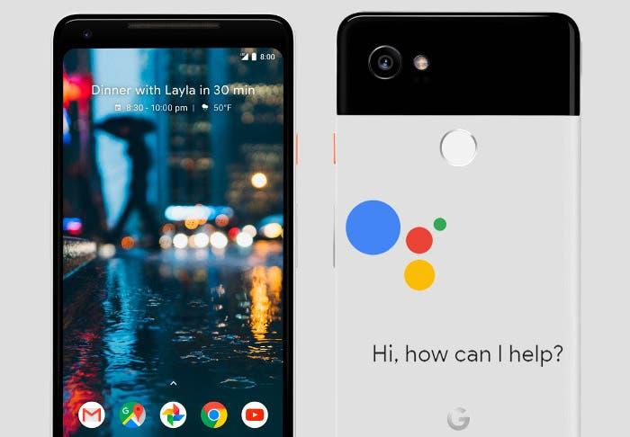 Google trabaja en un método más rápido para abrir Google Asisstant en los Google Pixel 2