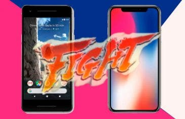 Google Pixel 2 VS iPhone X, la batalla entre lo mejor de Google y Apple