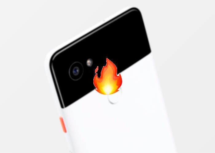 La pantalla del Google Pixel 2 XL sigue con problemas: ahora se quema