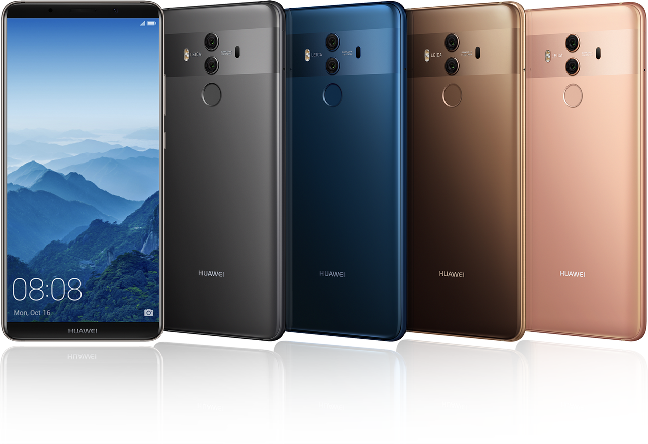 huawei mate diez colores