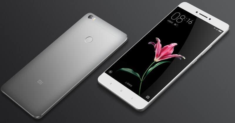 Xiaomi mi max 2 gris