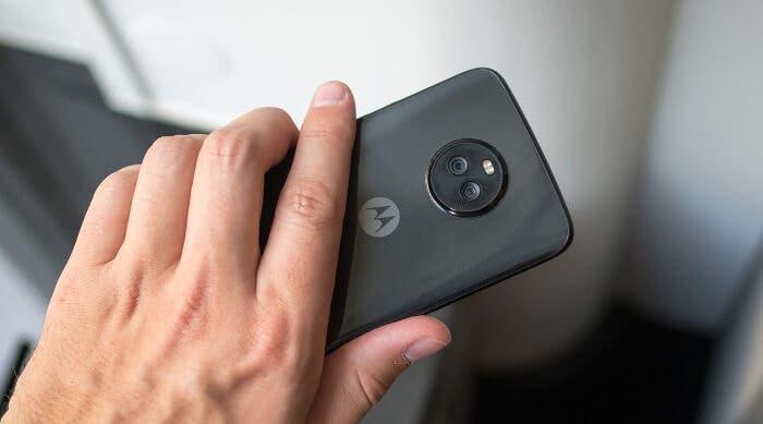 Motorola Moto X4 cámara