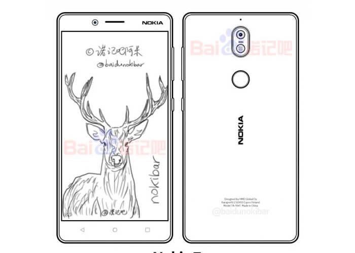 Nokia 7 diseño