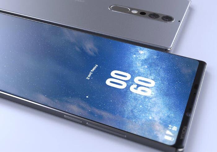 Este vídeo del Nokia 9 nos deja con el diseño más avanzado posible