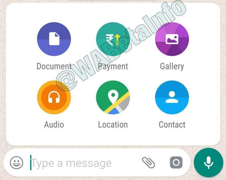 Captura de pantalla de los pagos de WhatsApp 01