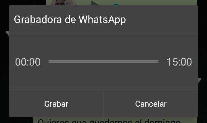 grabadora de voz de whatsapp