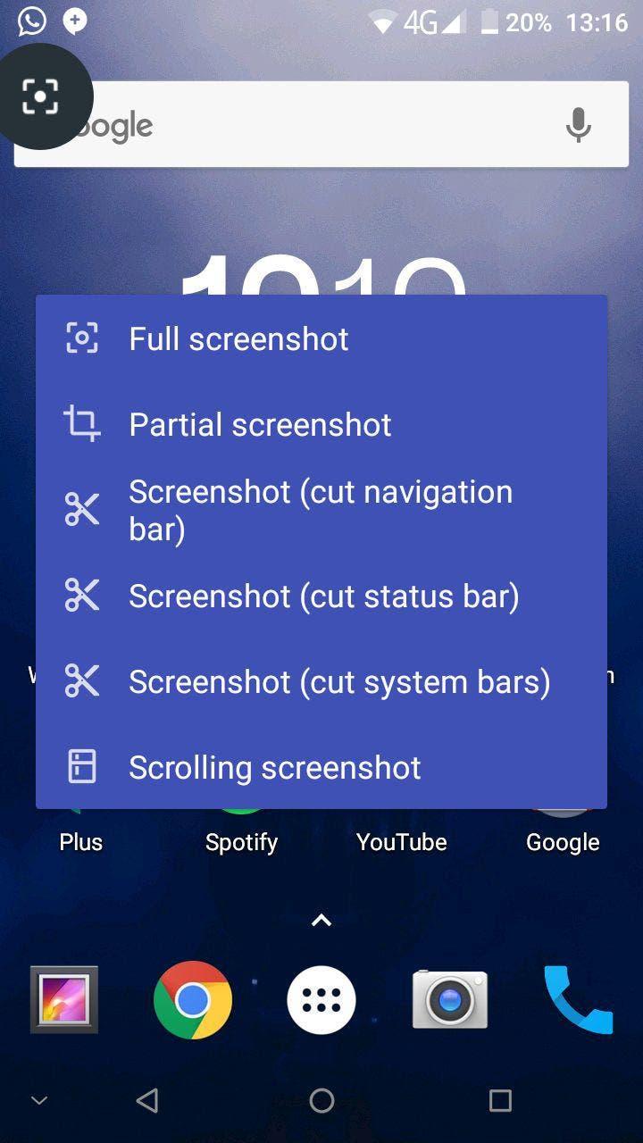 cómo hacer capturas de pantalla en android