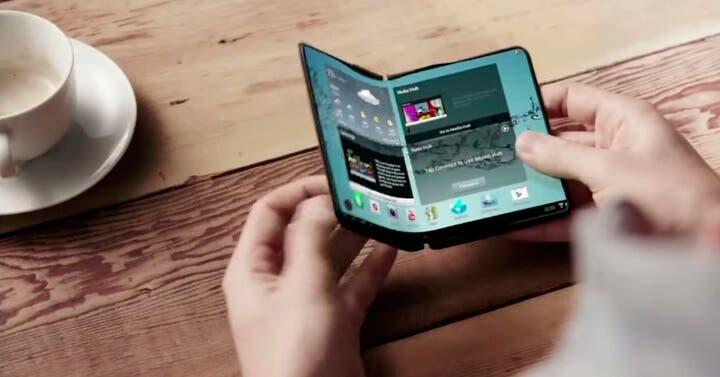 Nuevos detalles sobre el teléfono plegable de Samsung