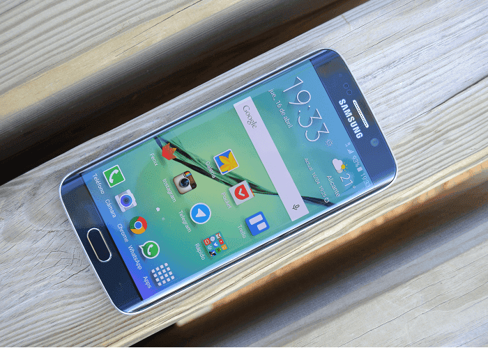 galaxy s6 frontal