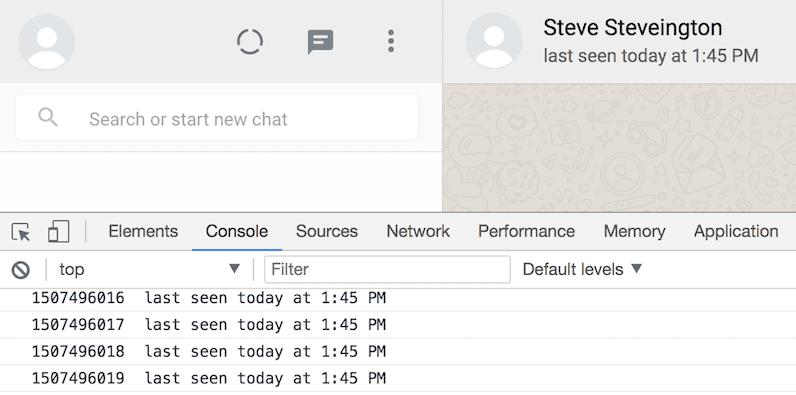 Control de las conexiones de WhatsApp