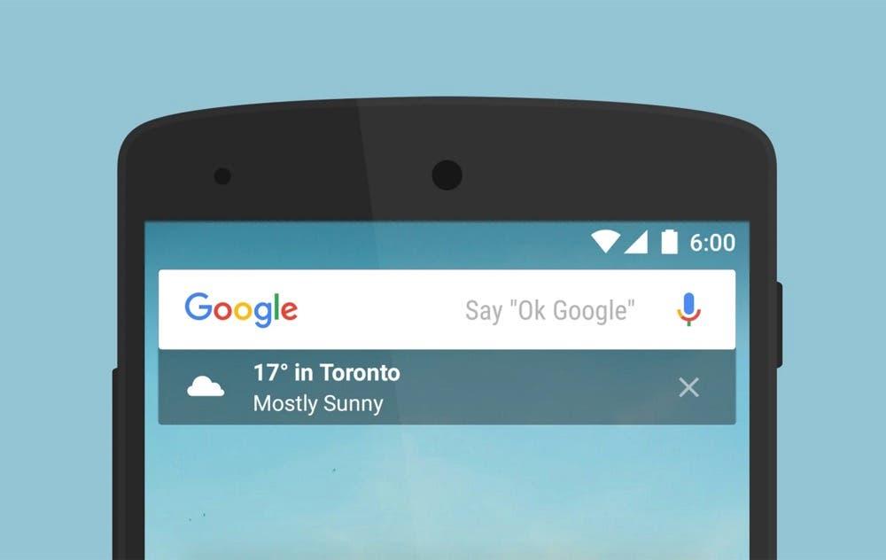 Ya puedes probar el nuevo cambio en la interfaz de Google para Android