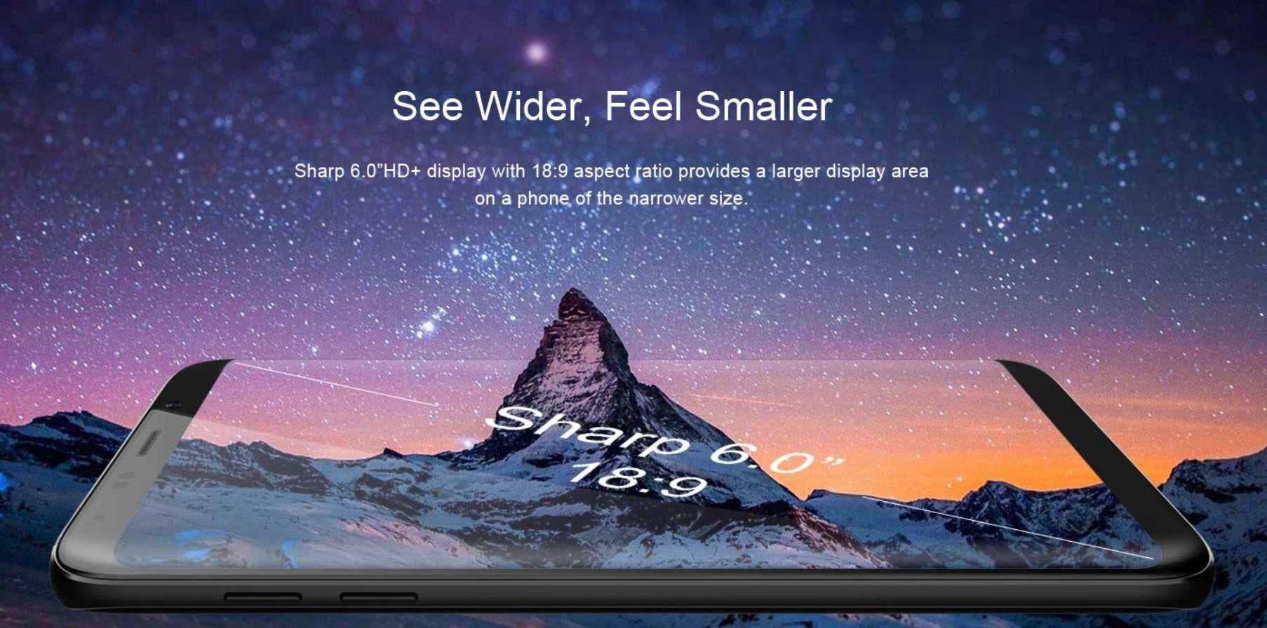 pantalla bluboo s8+