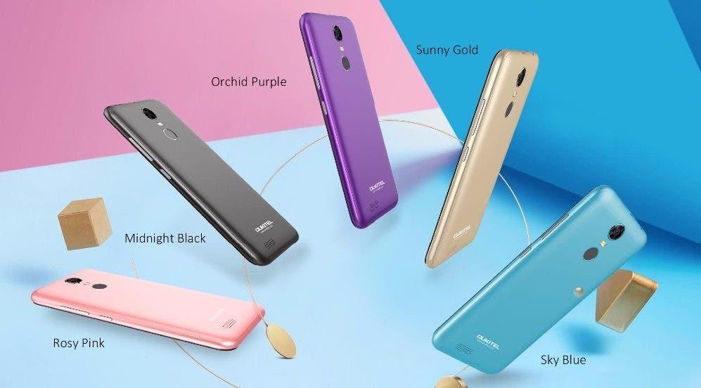 colores oukitel c8 4g
