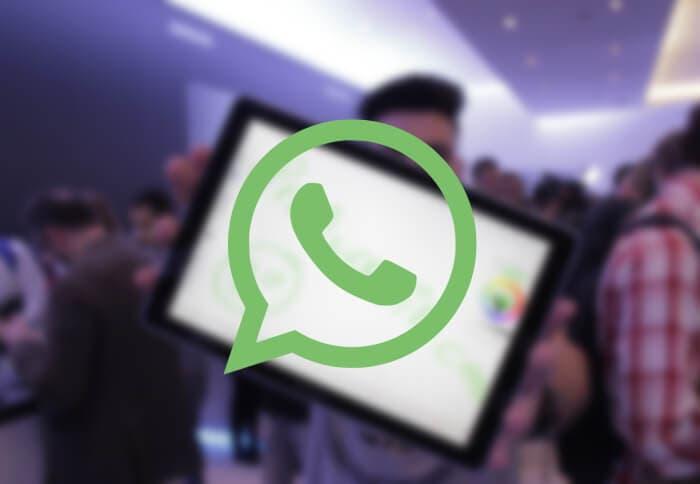 Whatsapp fondo tablet