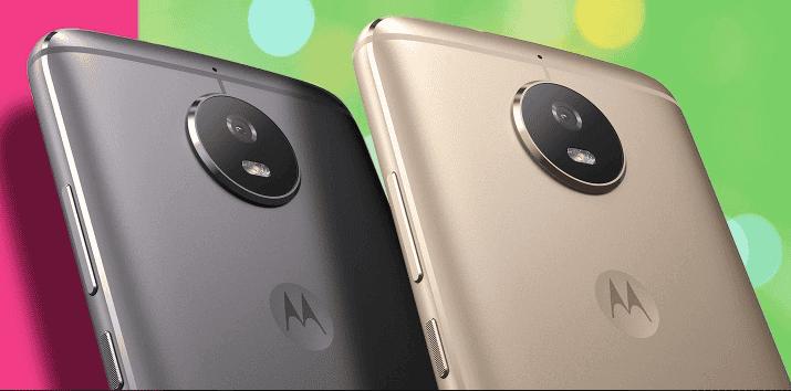 Motorola Moto G5s colores
