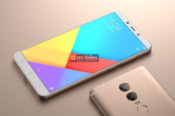 Este render del Xiaomi Redmi Note 5 nos deja con un nuevo diseño a la vista