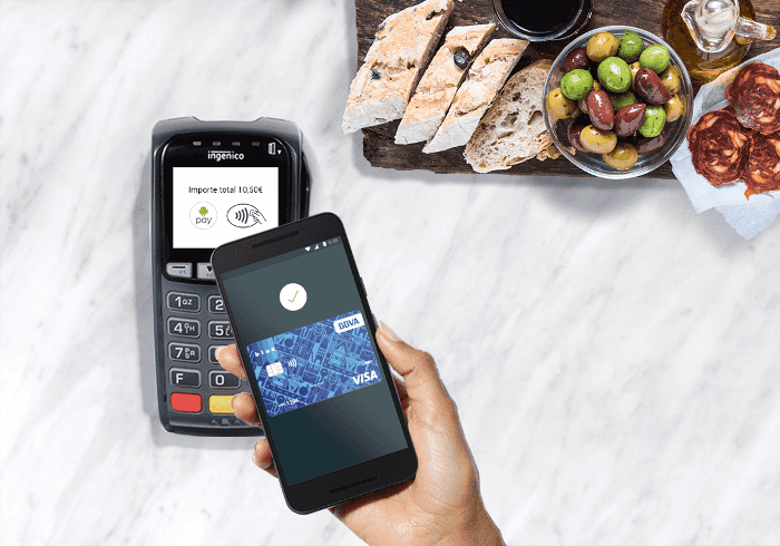 android pay BBVA